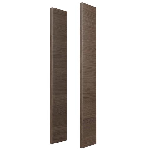 Blinq Fresno houten kleurzijdes voor spiegelkast grijs eiken 50