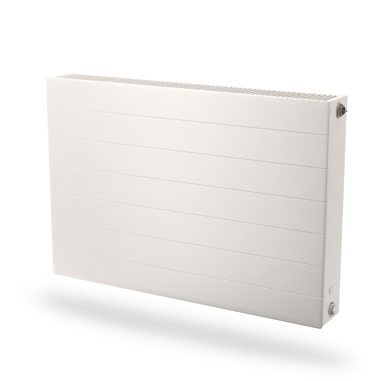 Radson E.Flow Ramo vlakke paneelradiator met horizontale lijnen - 750x900x108mm (H x L x D) - type 22