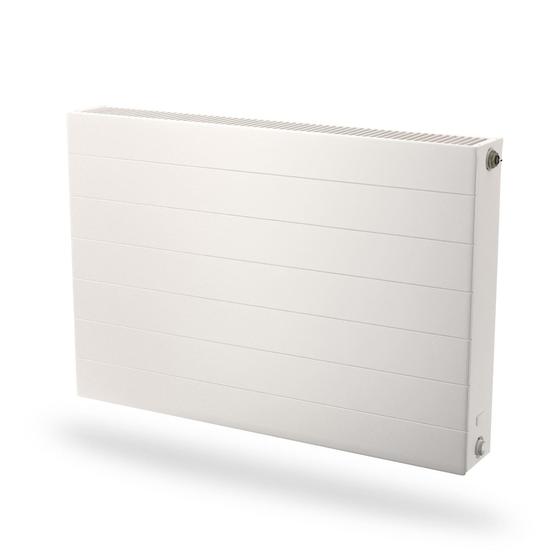 Radson E.Flow Ramo vlakke paneelradiator met horizontale lijnen - 600x600x108mm (H x L x D) - type 22