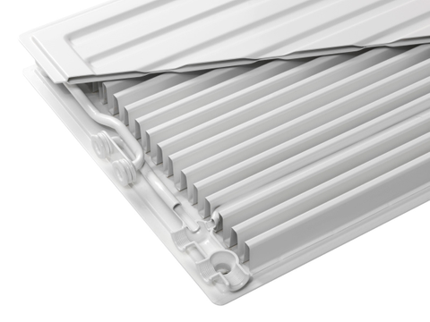 Radson E.Flow Integra paneelradiator  750x750x172mm (H x L x D) - type 33