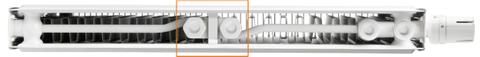 Radson E.Flow Integra paneelradiator  500x2100x106mm (H x L x D) - type 22