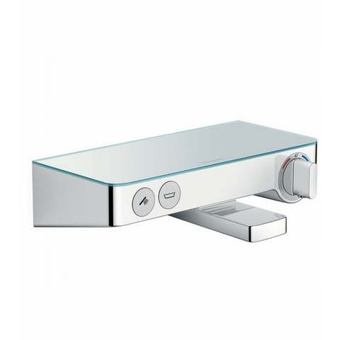 Hansgrohe ShowerTablet Select 300 badthermostaat met omstel wit-chroom