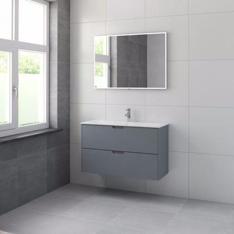 Bruynzeel Karo meubelset spr 100 cm. 1 kraangat puur grijs