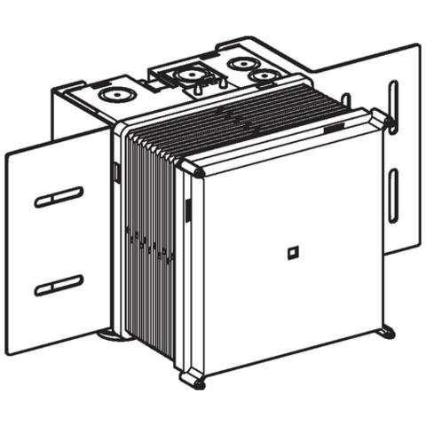Geberit  installatiebox voor wastafelkraan