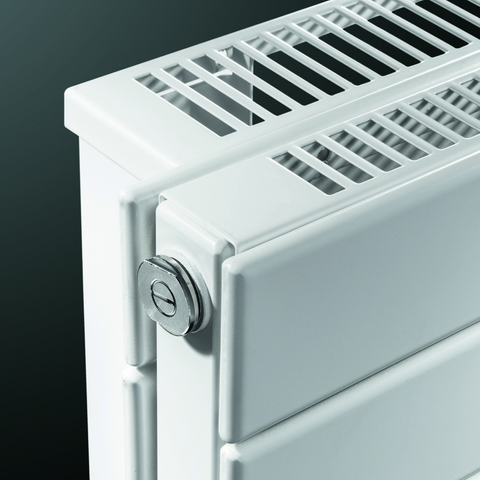Vasco Viola H2l2-Ro radiator 1100x433 mm. n12 as=0018 1485w wit ral 9016