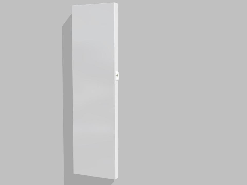 Vasco E-Panel EP-V-FL elektrische radiator 180x40cm wit - 1000w