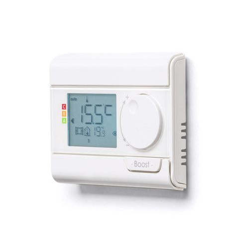 Vasco E-Volve E-Rf regelelement v/elektrische radiator wit ral9016