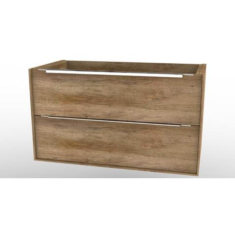Wavedesign Cassino wastafelonderkast 90x46 cm. grey oak