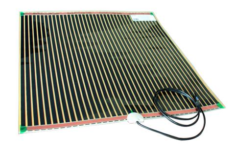 Wavedesign  spiegelverwarming 40x40 cm.  230 v