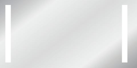 Wavedesign Acadia spiegel 125x70 cm.led verlichting links en rechts