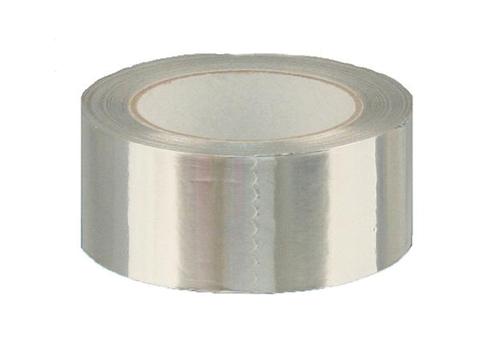 Magnum  aluminium tape 5 cm. rol 22,5 mtr. aluminium look