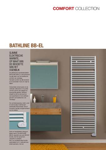 Vasco Bathline Bb-El elektrische radiator 500x878 n18 500w wit ral 9016