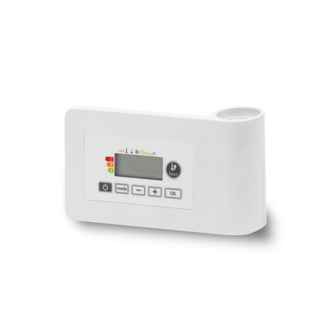 Vasco E-Volve E-V regelelement v/elektrische radiator wit ral 9016