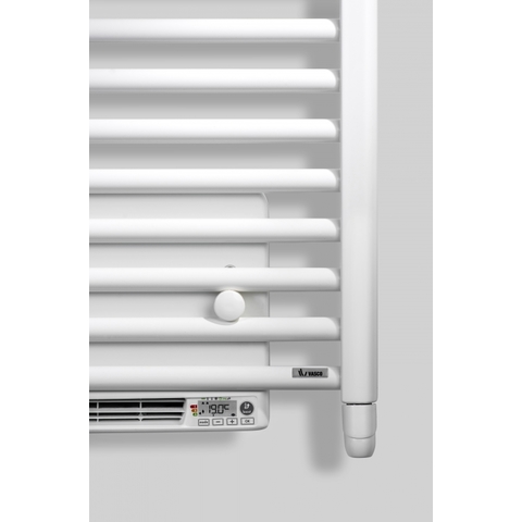 Vasco Iris Hd-El-Bl electr.radiator m/blower 500x1790 n35 2000w pure white 9010