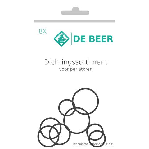 De Beer  dichtings assortiment perlatoren