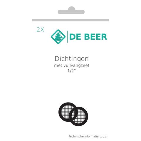 """De Beer  dichting met zeef 1/2"""""""