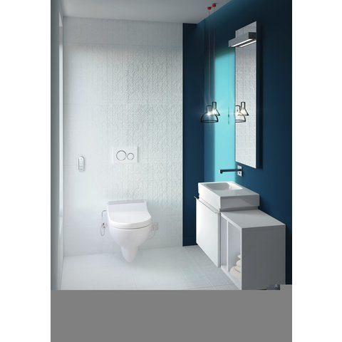 Geberit Aquaclean Tuma classic douche wc zitting wit - zonder closet