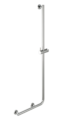 Geesa Comfort & Safety glijstang 114 cm. met greep rechts chroom