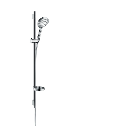 Hansgrohe Raindance Select S 3jet powderrain doucheset 90 cm. chroom