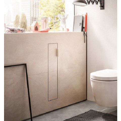 Emco Module 2.0 toiletmodule 1x deur links zwart