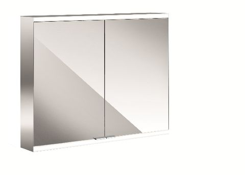 Emco Asis Prime 2 led-lichtspiegelkast 80 2xdeur achterwand spiegel spiegel