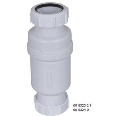 Walraven Macvalve -7 waterslotloos sifon 40x40 wit