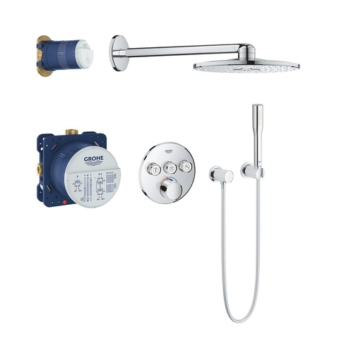 Grohe Smartcontrol perfect showerset compleet - rond - chroom