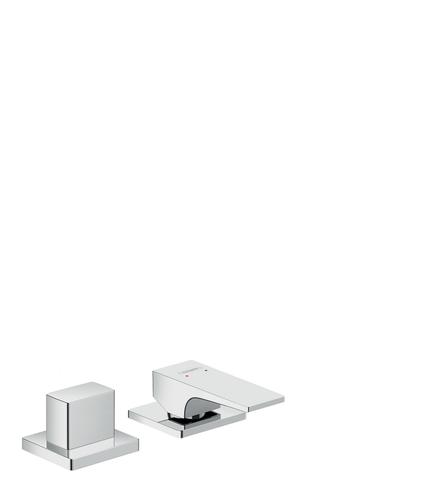 Hansgrohe Metropol 2-gats badrandcombinatie chroom