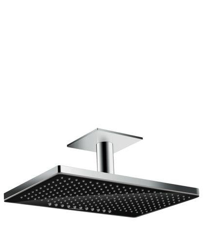 Hansgrohe Rainmaker Select 460 2jet hoofddouche plafonduitvoering zwart glas chroom