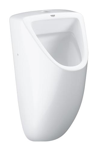 Grohe Bau Keramiek urinoir met boven inlaat wit