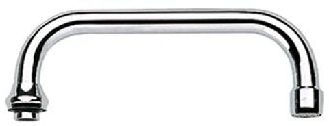 Grohe  u-uitloop 200 mm. met straalregelaar