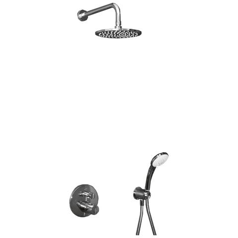 Ideal Standard Idealrain inbouw doucheset - met CeraTherm 100 inbouwthermostaat - chroom