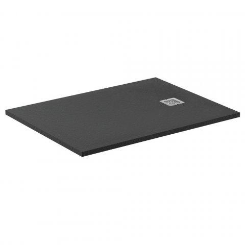 Ideal Standard Ultra Flat Solid douchevloer 140x90cm - zwart
