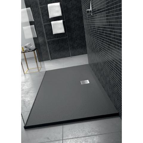 Ideal Standard Ultra Flat Solid douchevloer 120x100cm - zwart
