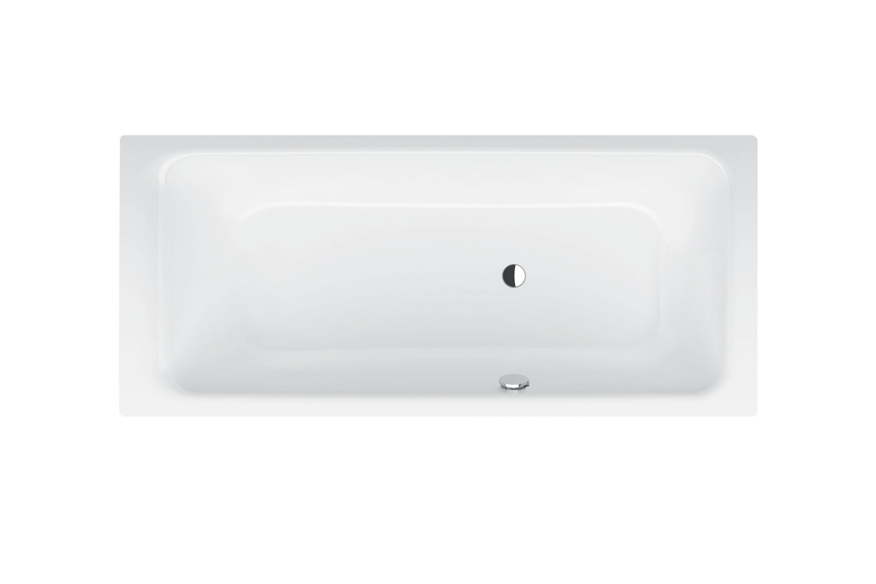 Bette Select bad 180 x 80 cm. voeteneind rechts overloop voor wit