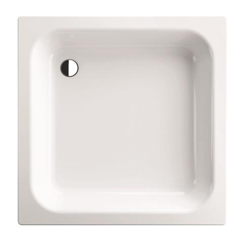 Bette Vlak plaatstalen douchebak 80 x 80 x 15 cm. wit