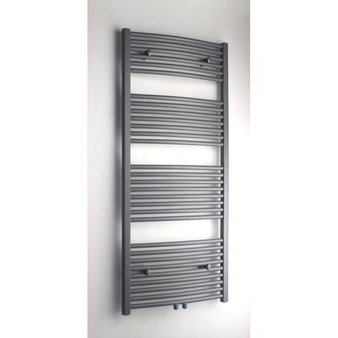 Blinq Altare G handdoekdesignradiator 140 x 50 cm (H X L) grijs metallic
