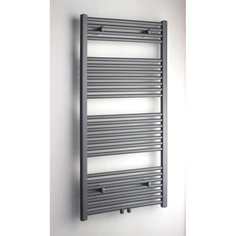 Blinq Altare R handdoekdesignradiator 120 x 50 cm (H X L) grijs metallic