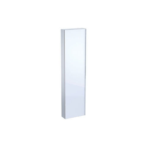 Geberit Acanto hoge kast 1 glasdeur 173cm glans wit