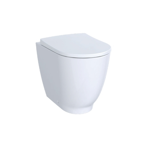 Sphinx Acanto staand toilet Back-to-wall Rimfree wit