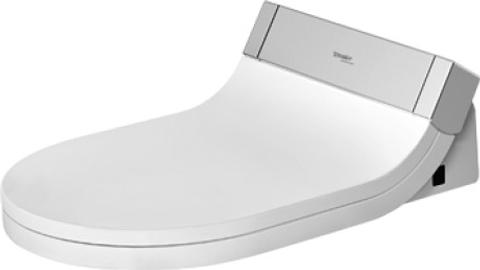 Duravit SensoWash E closetzitting met onderdouche kunststof wit type bediening afstandsbediening