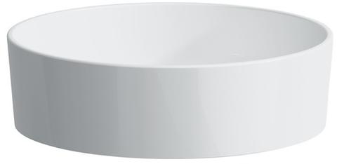 Laufen Kartell By Laufen opzetwastafel 42 cm. rond zonder kraangat wit