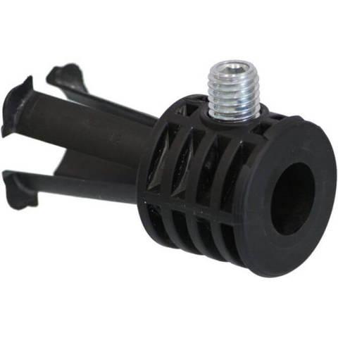 Geberit  wandbevestigingplug voor wandcloset zwart