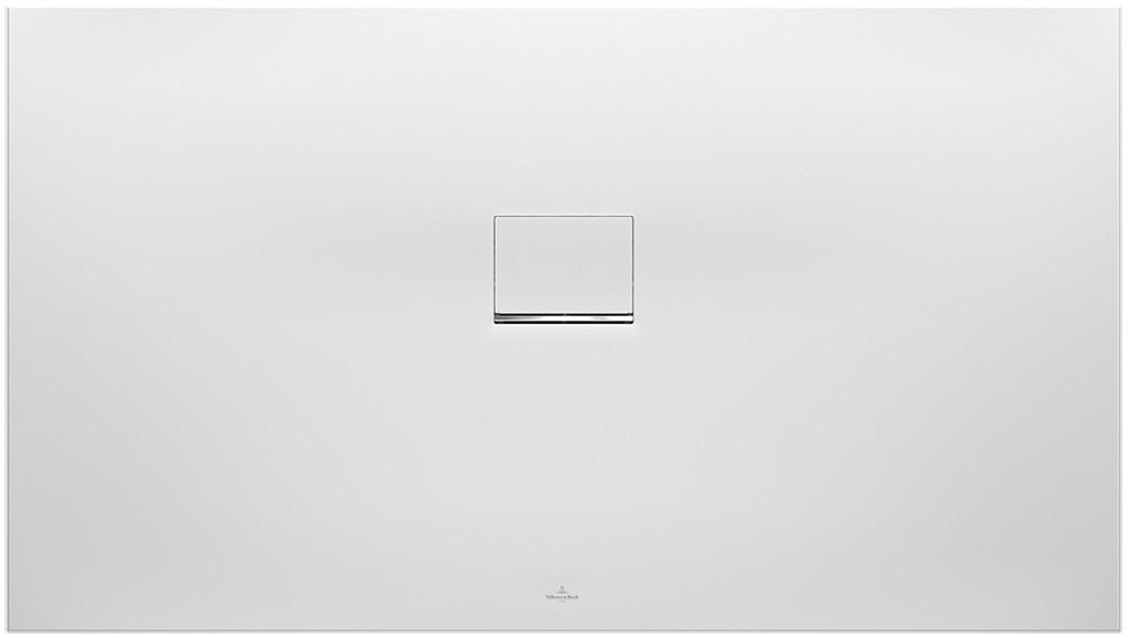 Villeroy & Boch Squaro Infinity douchebak 140 x 90 x 4 cm. stone white