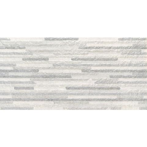 Baldocer Syrma tegel 60x30cm Silver decor (7 stuks)