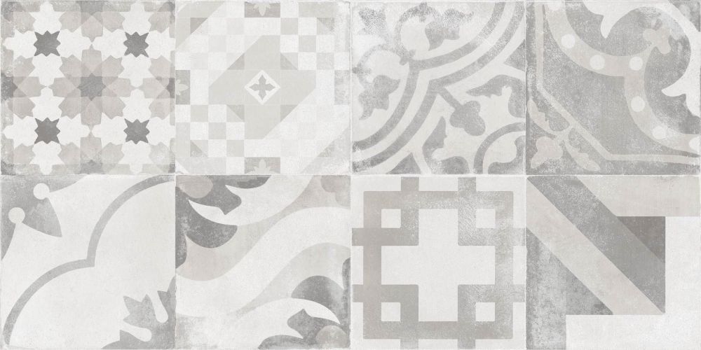 Cifre Nexus wandtegel 60 x 30 cm decor (7 stuks)