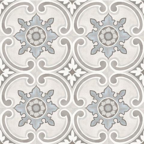 Cifre Adobe tegel 20x20 cm white decor Gales (26 stuks)