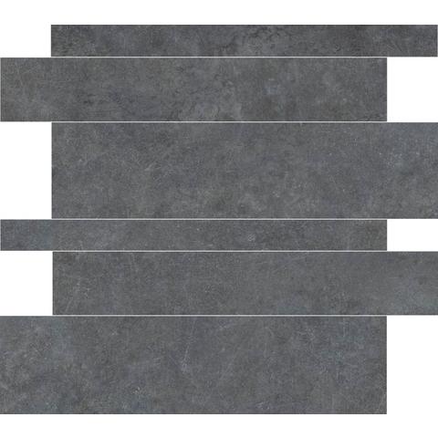 Cifre Materia tegelstroken 5-10-15x60 cm antracite (18 stuks)