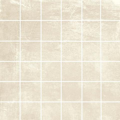 EnergieKer Loft mozaïek tegel 5x5 cm white (Per stuk op mat van 30x30cm)