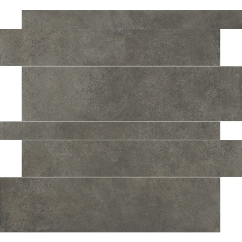 Herberia Timeless tegelstroken 60 x 5-10-15 cm anthracite (18 stuks)